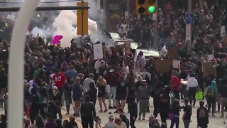 Cleveland police release body camera footage of protests