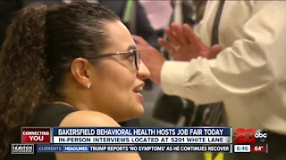 Bakersfield Behavioral Health hosting job fair today