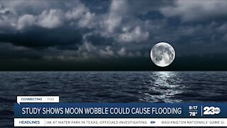Study shows moon wobble could cause flooding