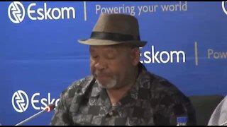 SOUTH AFRICA - Johannesburg - Eskom Press Briefing (Video) (ioM)