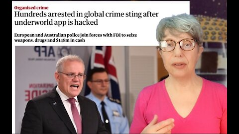 FBI and Australian Police Arrest a Lot of Bad People Using a Spy Phone