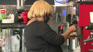 Cleveland coffee shop owner struggling to brew up business