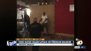 Bouncer beaten by men in Pacific Beach