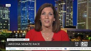 Senator Martha McSally speaks out on Election Day