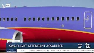 Flight attendant assaulted by passenger
