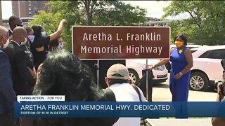 Aretha Franklin Memorial Highway dedicated