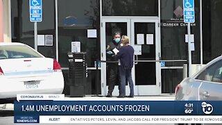 1.4 million jobless claims frozen