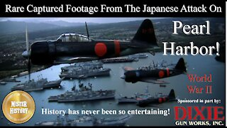 Captured Japanese Footage From The Attack On Pearl Harbor