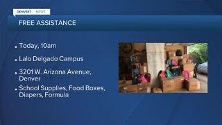 School supplies giveaway in Denver today
