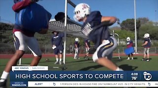 San Diego County high school sports to compete