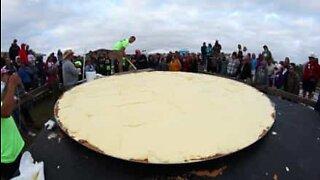Ny verdensrekord: Den største key lime-paien ble bakt i Florida