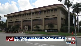 Call for oversight at Fort Myers Police Department fizzles