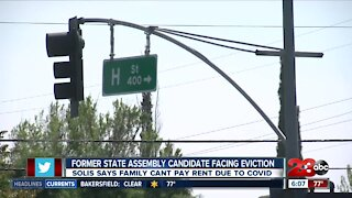 Former state assembly candidate faces an eviction notice