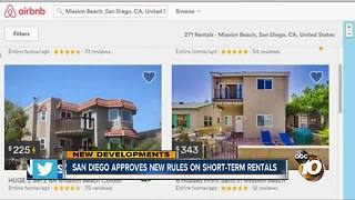 San Diego approves new rules on short-term rentals
