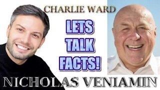 NICHOLAS VENIAMIN WITH CHARLIE WARD TALK FACTS!