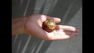 ferrero rocher chocolate review - worms inside