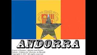 Bandeiras e fotos dos países do mundo: Andorra [Frases e Poemas]