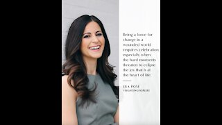 Lila Rose Shares Wisdom From Her Book 'Fighting For Life'