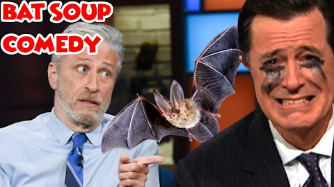 Lefties Meltdown as Jon Stewart Points Out Covid Wuhan Lab Leak