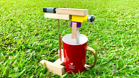 2 SIMPLE INVENTIONS ( CUP BLENDER MACHINE ...)