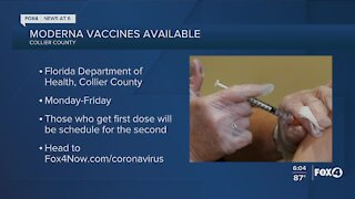 Collier County vaccinations this week