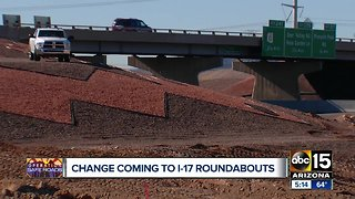 Changes coming to I-17 roundabouts