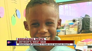 Police search for missing 5-year-old Marcus Pruitt