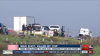 CHP Officer Involved Shooting