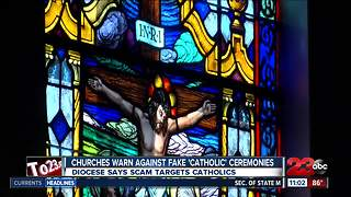 Diocese warns against 'Catholic' ceremony scam