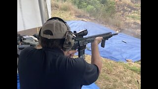 Don Spencer President of OK2A with Full Auto
