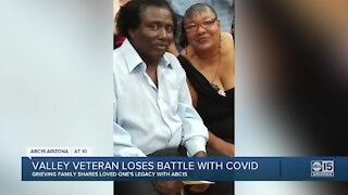 Valley Army veteran loses battle with COVID-19
