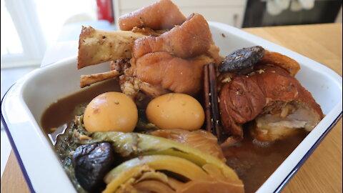 How to make Thai-inspired leg of pork stew