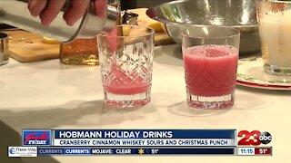Foodie Friday: Hobmann Holiday Drinks