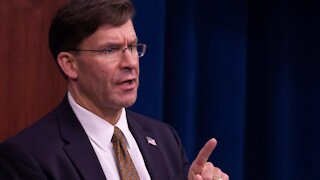 Defense Secretary Mark 'Don't Call Me Yesper' Esper On His Way Out