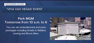 Viva Vax Vegas event happening Saturday