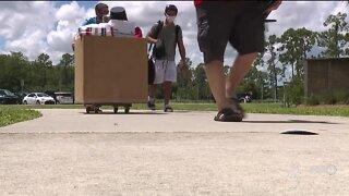 Florida Gulf Coast students move into campus dorms
