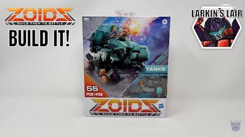 Build It! Hasbro ZOIDS Wild Mega Battlers Tanks - Turtle-Type, Larkin's Lair