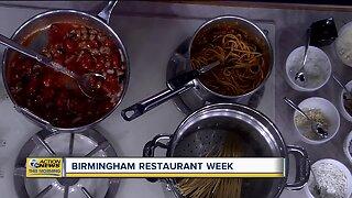 Birmingham Restaurant Week underway