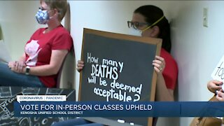 Kenosha Unified School District to have in-person and virtual learning for upcoming school year