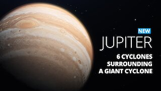 Giant Cyclone The Size Of Texas Discovered On Jupiter By NASA