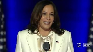 Kamala Harris becomes first Black woman, South Asian elected Vice President