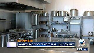Workforce development in St. Lucie County