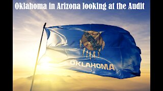 Oklahoma Rep is in Arizona looking at the audit