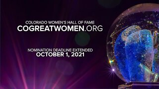 Colorado Women's Hall of Fame New Inductees Wanted