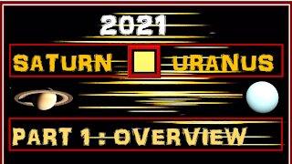 Saturn Square Uranus 2021 Part 1 - Overview