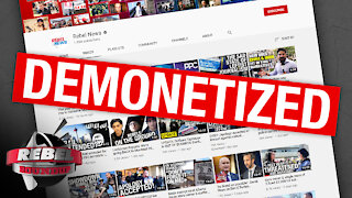 """Silicon Valley is """"The most left-wing place in America"""": Ezra Levant on YouTube's demonetizing Rebel"""