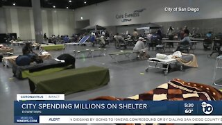 City spending millions on Convention Center Covid shelter