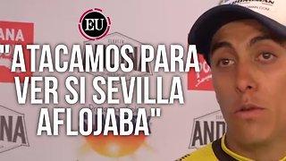 Habla Óscar Quiroz después de ganar la octava etapa del Clásico RCN