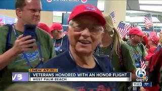 Honor flight takes Florida veterans to Washington, D.C.