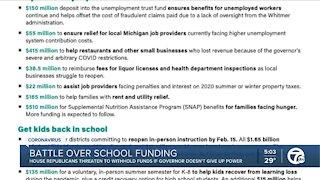 Battle over school funding